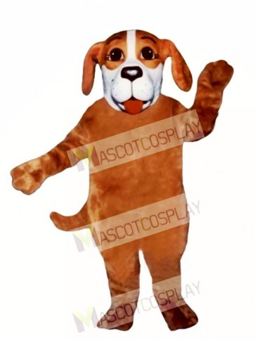 Cute Willard Woof Dog Mascot Costume