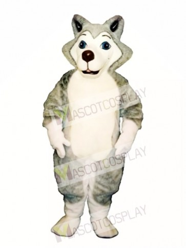 Cute Herman Husky Dog Mascot Costume