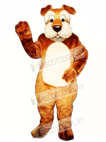 Cute Terri Terrier Dog Mascot Costume