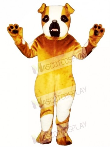 Cute Pug Dog Mascot Costume