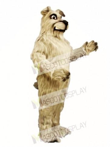 Cute Snarling Pooch Dog Mascot Costume