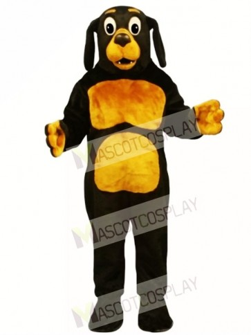Cute Dobie Dog Mascot Costume