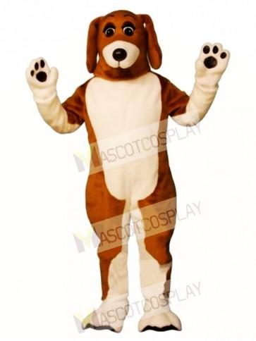 Cute Bossy Beagle Dog Mascot Costume