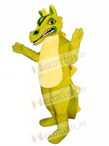 Green Oriental Dragon Mascot Costume