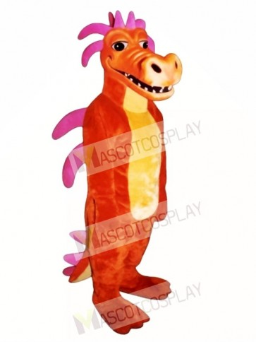 Duncan Dragon Mascot Costume