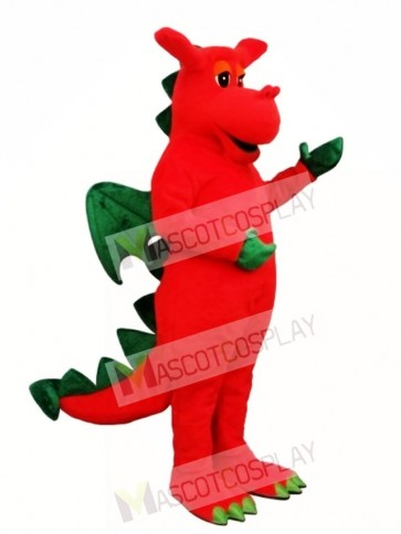 Winged Dragon Mascot Costume