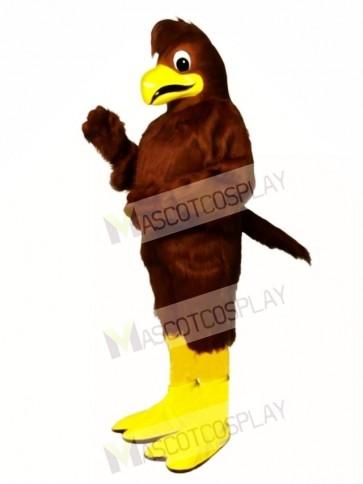 Cute Crested Hawk Mascot Costume