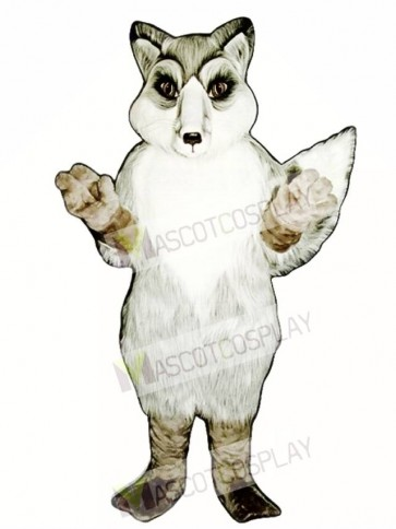 Cute Realistic Fox Mascot Costume