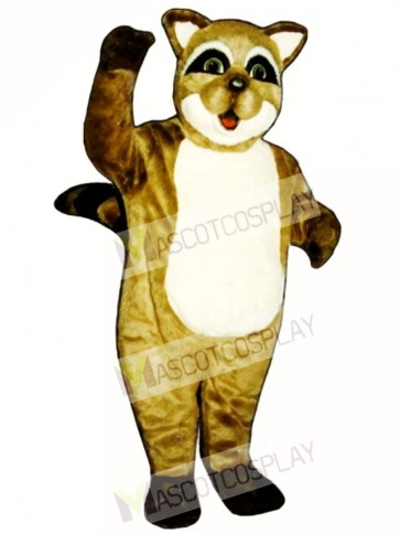 Rocky Raccoon Mascot Costume