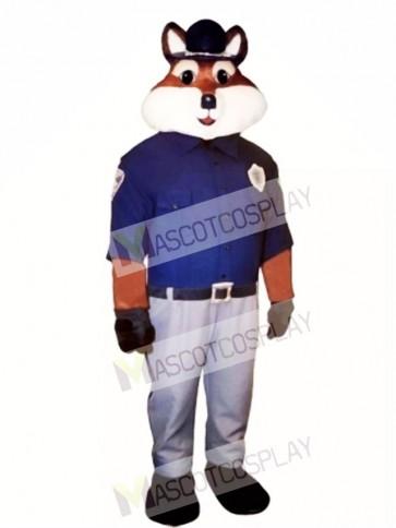 Cute Trooper Fox Mascot Costume