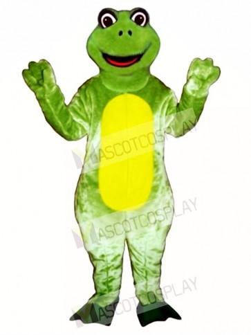 Happy Frog Mascot Costume