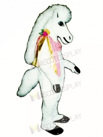 Carousel Horse with Neck Ribbon Mascot Costume