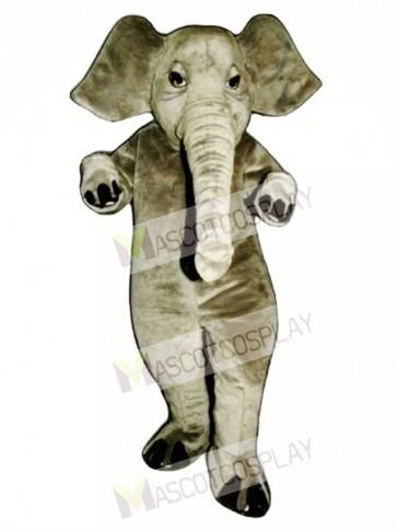 Realistic Elephant Mascot Costume