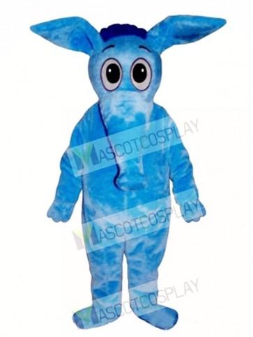 Blue Aardvark Mascot Costume