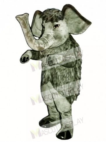 Wooly Mammoth Elephant Mascot Costume