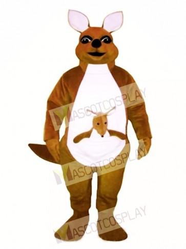Mrs. Kangaroo with Joey Mascot Costume