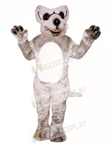 Red Eyed Rat Mascot Costume