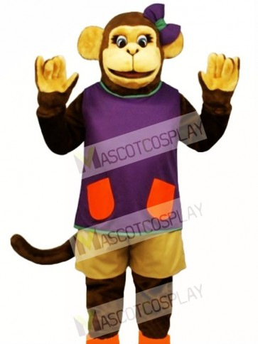 Wackie Jackie with Shorts & Shirt Mascot Costume
