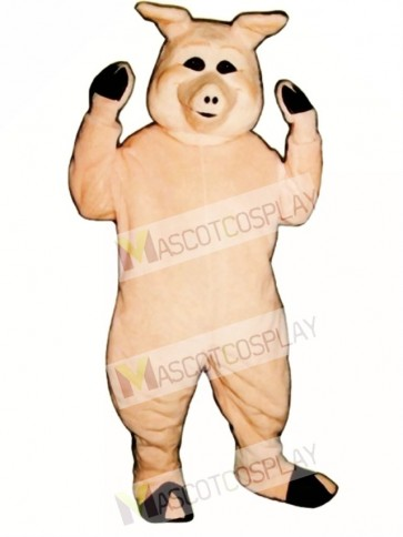 Cute Pierre Pig Mascot Costume
