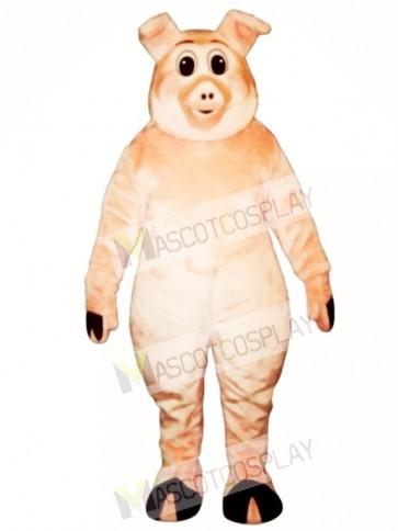 Cute Porker Pig Piglet Hog Mascot Costume