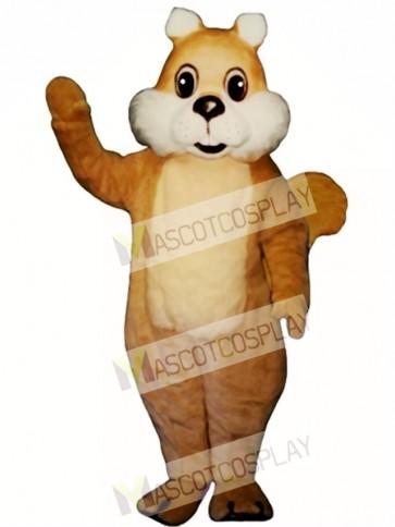 Chubby Squirrel Mascot Costume