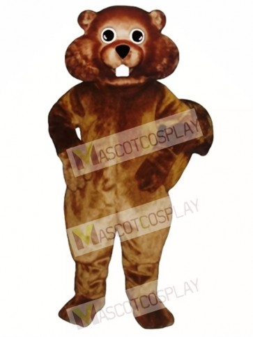 Nutty Squirrel Mascot Costume