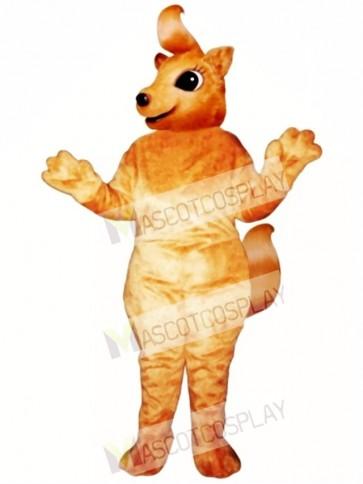 Girly Squirrel Mascot Costume