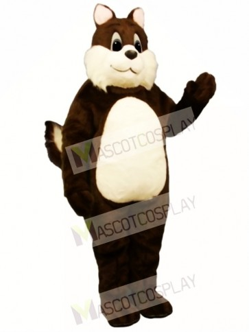 Sam Squirrel Mascot Costume