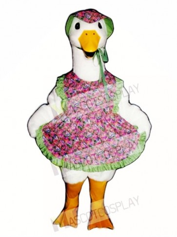Mother Goose with Hat Mascot Costume