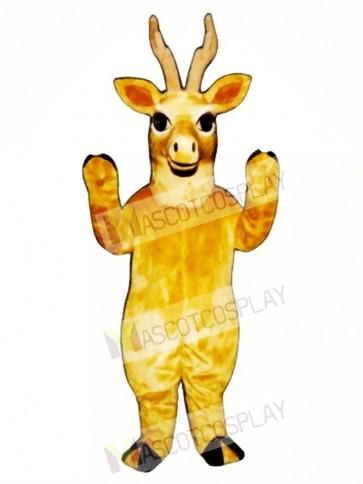 Cute Realistic Deer Mascot Costume