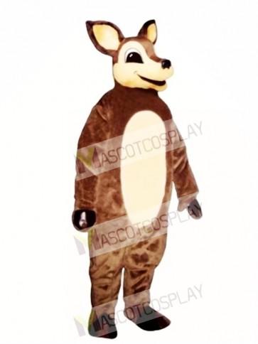 Cute Dingie Deer Mascot Costume