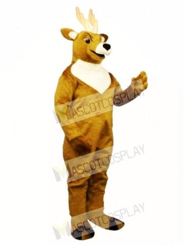 Cute Dorian Deer Mascot Costume