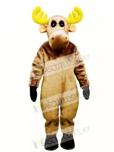 Cute Mildred Moose Mascot Costume