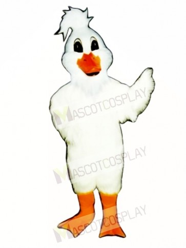 Cute Christmas Goose Mascot Costume