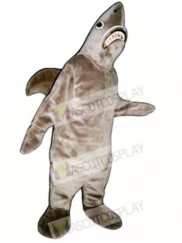 Cute Shark Mascot Costume