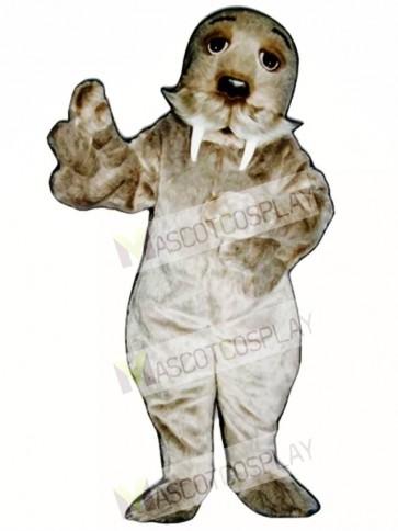 Cute Walrus Mascot Costume
