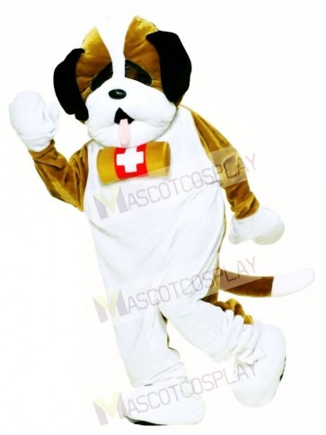 Cute Deluxe Puppy Dog Mascot Costume