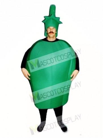 Green Pepper Mascot Costume