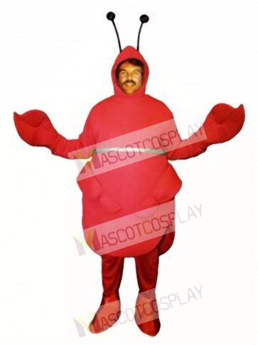Red Beetle Mascot Costume