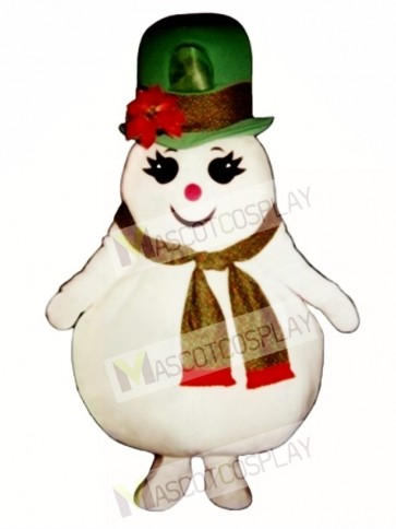 Madcap Snow Girl Mascot Costume