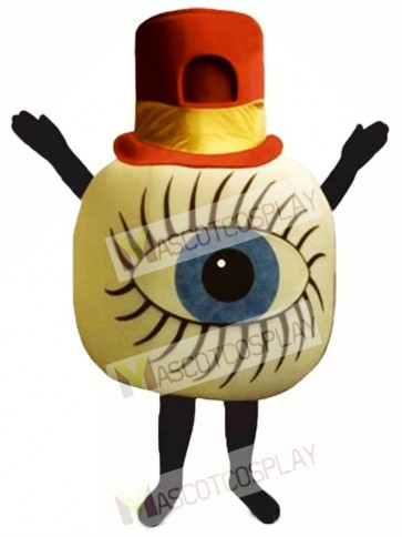 Crawling Eye Mascot Costume