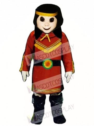 Native American Princess Mascot Costume