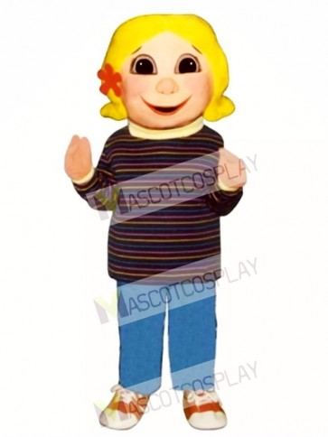 Girl Mascot Costume