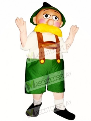 Alpine Man Mascot Costume