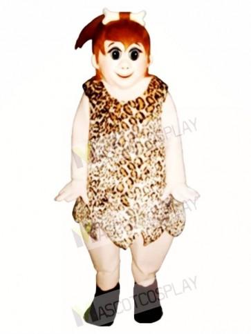 Cave Girl Mascot Costume