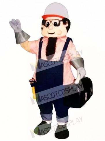 Working Man Mascot Costume