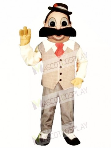 Barber Mascot Costume