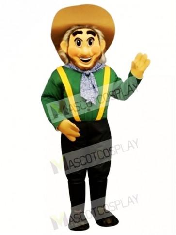 Cowboy Mascot Costume