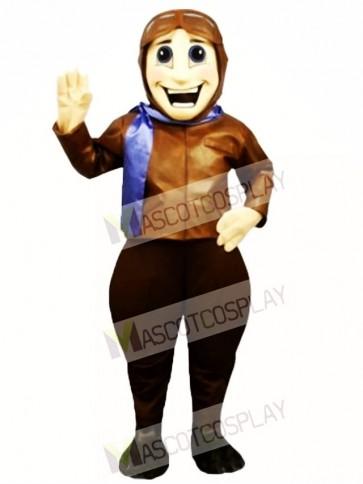 Perry Pilot Mascot Costume