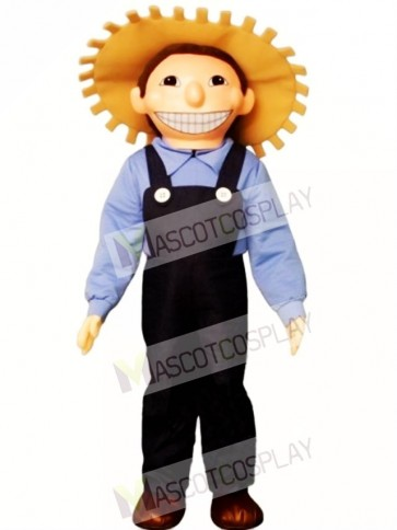 Farm Boy Mascot Costume